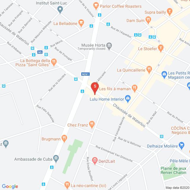 Carte gmap